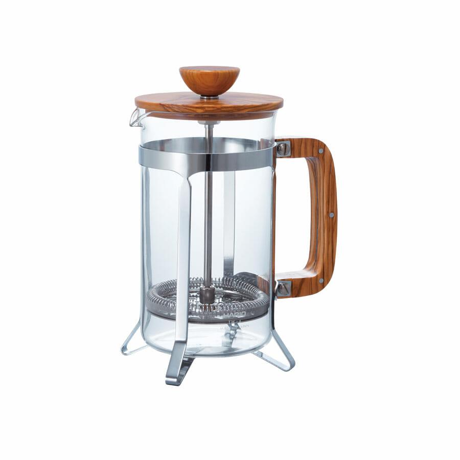 Cafetera prensa madera