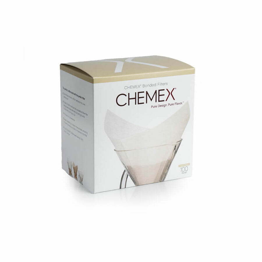 Filtros Chemex cuadrados